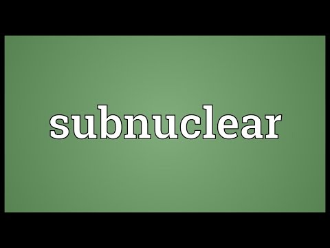 Header of subnuclear