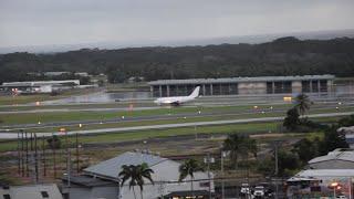 Aloha Air Cargo Boeing 737-200 - Take-Off from Hilo, Hawai'i