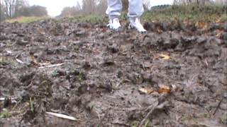 Adidas Top Ten in a bit of mud