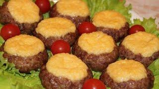 Мясные ватрушки с творогом | Просто вкусно