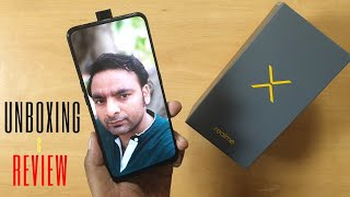 RealMe X Unboxing and Review | Camera | Display | Fingerprint FaceUnlock Speed Test | Hindi