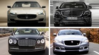 TOP 10 Luxury Sedan Cars 2015