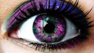 Get Purple Violet Dark Emerald Green Eyes Fast! Binesis Subliminals Frequencies Hypnosis