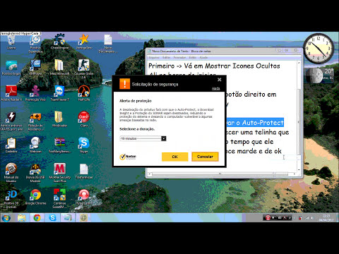 Como desativar o Norton internet security