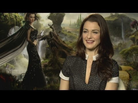 Rachel Weisz Oz The Great And Powerful interview: How to act in front of a green screen