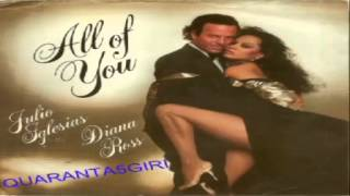 All Of You/The Last Time Julio Iglesias & Diana Ross 1984 (Facciate2)