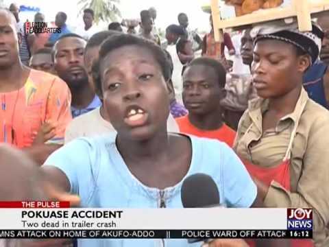Pokuase Accident - The Pulse on Joy News (14-11-16)