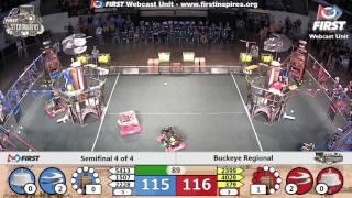 Semifinal 4 - 2017 Buckeye Regional
