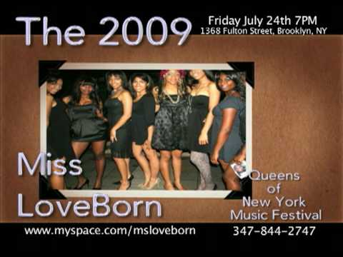 The 2009 Miss Loveborn Queens Of New York Beauty Pageant And Music Festival video