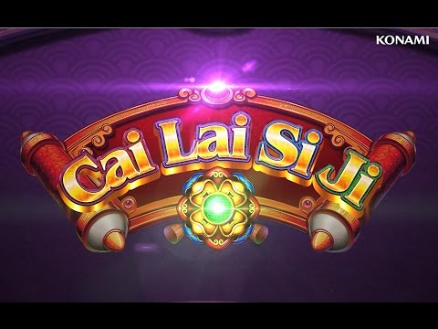 CAI LAI SI JI | Official Slot Game Video | Konami Gaming, Inc.