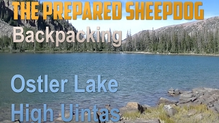 Backpacking to Ostler Lake - High Uintas