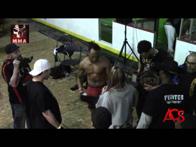 "Exiled MMA ""ANARCHY""  Aaron "" Beat dem up "" Smith vs Bob "" Hick From the Sticks"" Mezzano"