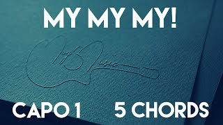 Download Lagu How To Play My My My! by Troye Sivan | Capo 1 (5 Chords) Guitar Lesson Gratis STAFABAND