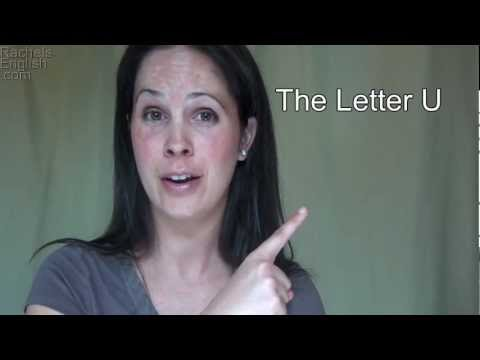 How to Pronounce the Letter U – American English