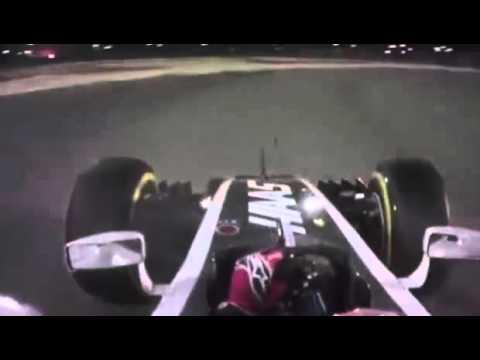 F1 2016 Bahrain - Romain Grosjean Team Radio after 5th Place