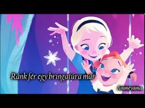 Jégvarázs: Csak egy pici hó kell - Dalszöveggel / Do you want to build a snowman -Hungarian Lyrics