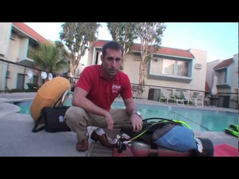 deep dive scuba equipment