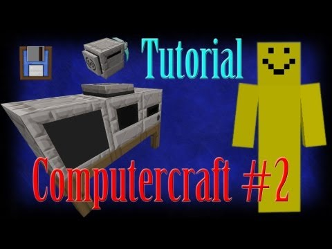 Minecraft: Computercraft Episode 2 - Disks/Discs and File Copying [Tutorial]