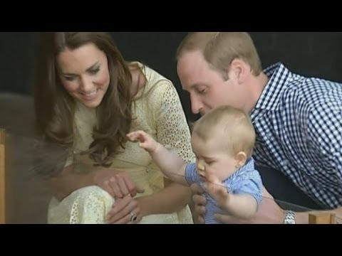 Prince George pays royal visit to the zoo