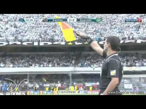 SANTOS 4X2 GUARANI (final do CAMPEONATO PAULISTA 2012) JOGO COMPLETO [ FULL MATCH ]