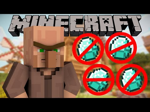 Why Villagers hate Diamonds - Minecraft