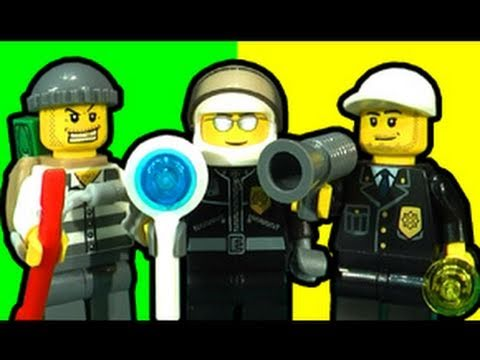 LEGO City Police Bomber - Ultimate Toy Review 7279-7285-7286