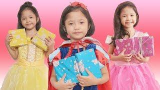 Mở Quà Cùng 5 Nàng Công Chúa Disney - Elsa, Anna, Belle, Aurora, Snow White - SYLVANIAN PLAY SET