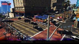 Terroristische aanslag in Los Santos! - Terror Zombies Ep1 - Noway ZVM (GTA 5 Mods)