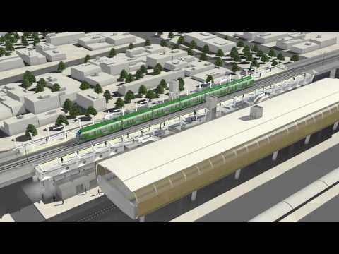 Veja detalhes da Linha Sul do metrô de Fortaleza