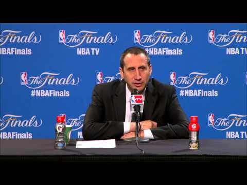 What David Blatt said after Cleveland Cavaliers loss to Warriors in Game 4 of 2015 NBA Finals