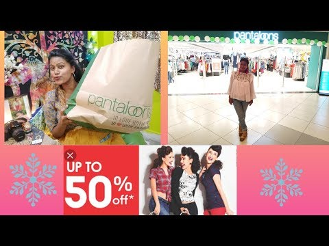 PANTALOON SHOPPING HAUL||50%-FRESH CLOTHES||WITH FASHIONISTA AMIA