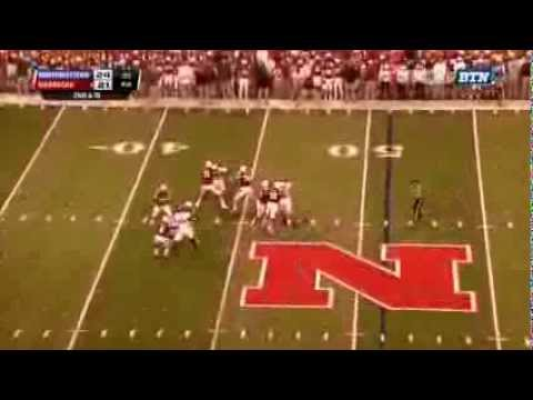 Nebraska beats Northwestern 27-24. The radio announcer do a great job of capturing the moment of this game winning hail mary.