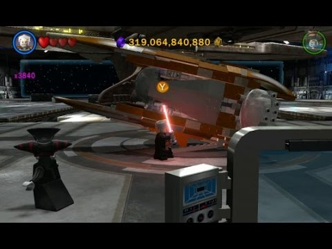 LEGO Star Wars III: The Clone Wars - All Separatist Airships