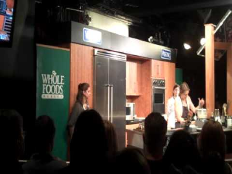 Video Alicia Silverstone Vegan Cheesecake Recipe Demos The Kind Diet Cookbook Live