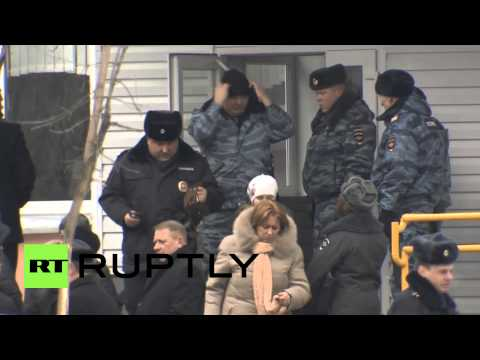 Russia: Children and parents reunited after Moscow school shooting