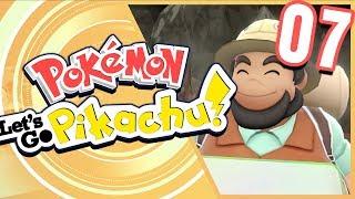 Pokémon Let's Go Pikachu! Episode 7 - Rock Tunnel!