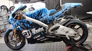 Suter 576cc 2 stroke Isle Of Man TT 2016 Ian Lougher