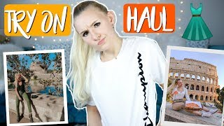 SHOPPING TIME...Try On Fashion Haul! H&M, Zara, Bershka, Pull & Bear