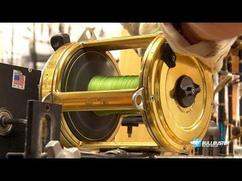 Spooling Shark Fishing Reels