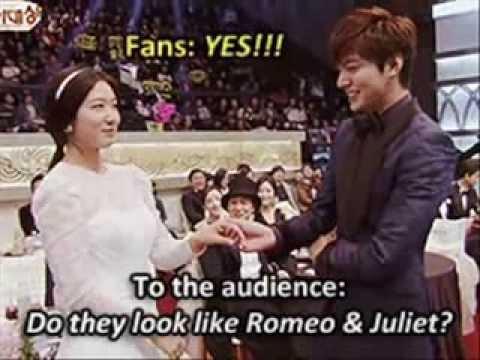 Lee Min Ho a... Lee Min Hoo And Park Shin Hye