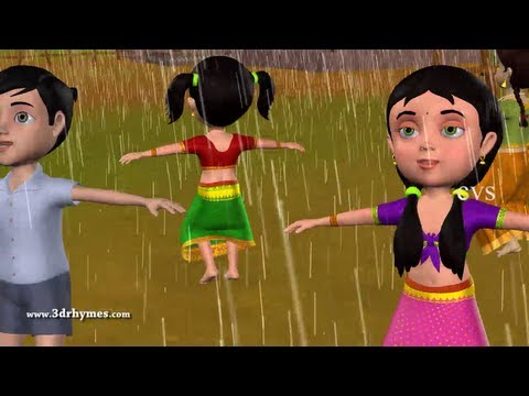 Vana Vana Vallappa - 3d Animation Telugu Rhymes For Children With Lyrics video