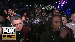 Deontay Wilder's Ring Walk ahead of heavyweight title fight vs. Tyson Fury | PBC ON FOX