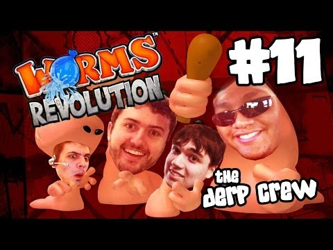 KIM JONG UN: THE PACIFIST (Worms Revolution w/ The Derp Crew)