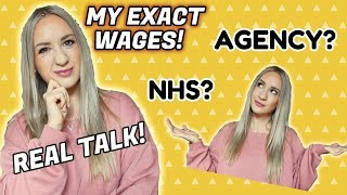 How much is a UK nurse salary?