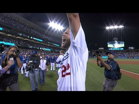 Kershaw fans Dickerson to complete no-hitter