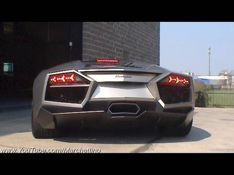 Lamborghini Reventn Roadster Sound!! Start and Rev