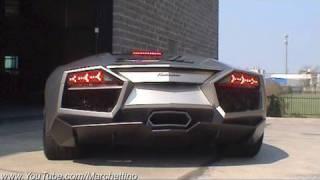 Lamborghini Reventón Roadster Sound!! Start and Rev