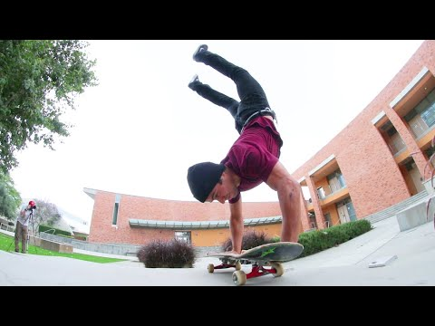 The Scariest Type Of Skateboard Trick!