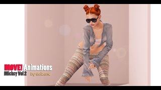 MOVE Animations - Mickey VOL 2 by Fashiowl
