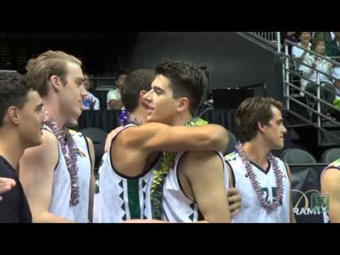 Hawaii Men's Volleyball Senior Night Ceremony 2016